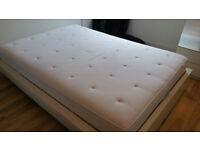 Mattress, 140x200cm Ikea HYLLESTAD (Pocket sprung+latex), firm, bought 03-2015
