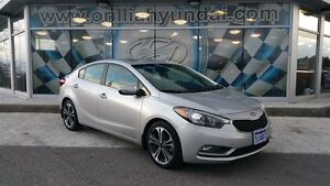 2015 Kia Forte SX 2.0-LEATHER/SUNROOF/CAMERA/NAVI