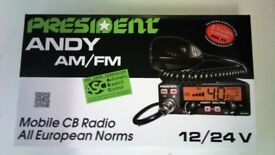 President Andy AM/FM ASC BRAND NEW