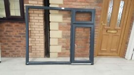 Anthracite UPVC miss measure windows & Patio doors for sale from £25 - Free local delivery