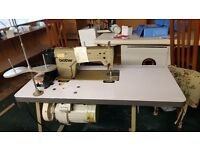 Industrial sewing machines working order pick up only