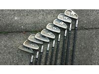 full set of hippo golf clubs and bag