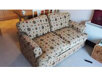 2 seater sofa bed for sale (very good condition)