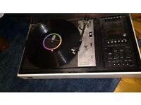 Vintage Dynatron Record Player + Goldring G101 Turntable. Antique piece