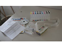 Lyson CIS (continuous ink system) kit for Epson R2880