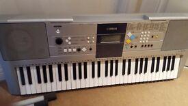Yamaha PSR E-323 61 Key Electric keyboard with stand