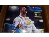 500gb ps4 slim with fifa 18