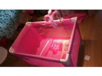 Travel cot bed Fisher-Price