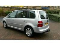2005, VW Touran. 2.0 TDI Diesel. 6 Speed gearbox. 140bhp. ( 7 Seater ) Excellent Condition.