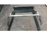 Mitsubishi L200 2005 k74 model, rear chrome rollbar + sliding rear tub locking cover