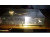 Sony tuner/amp, retro, full working order