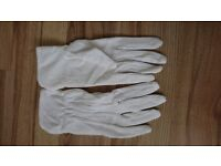 White Heat Resistant Gloves