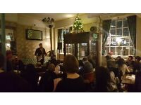 UK Open Mic, 7pm, EVERY WEDNESDAY @ The Apple Tree, Clerkenwell (Farringdon / Holborn / Kings Cross)