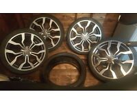 19 inch Audi r8 style alloys for sale or swap