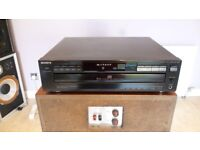 Sony CDP CD225 5 Disc Multi Player Will post