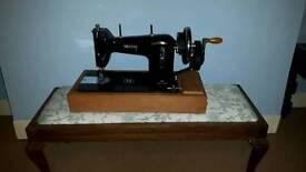 1950s nacchi Italian hand sewing machine