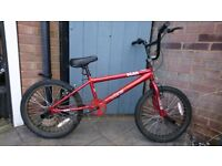 Vibe Scar BMX, 20 Inch Wheels, Purchased In February Last Year, £50