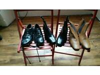 Boots by Samuel Windsor and kilt shoes size 13