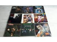 Willie Nelson Waylon Jennings Country records 60 x vinyl