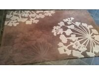Brown Large size non slip floor rug / runner grip sheet Brown high quality
