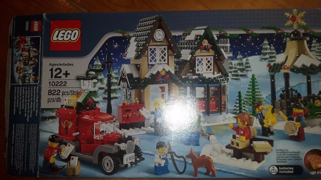 LEGO Seasonal Winter Village Post Office set 10222