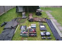 Pike rods, reels, equipment all in excellent condition