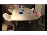 Brand NEW Extending Table and 4 Chairs