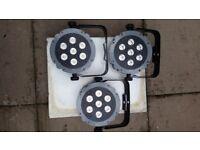 DJ Lights - Showtec Compact Par 7 Tri 42580