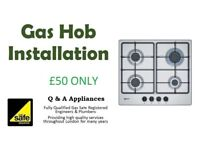 Gas Cooker, Hob and Oven Fitting & Installation - Gas Pipework - All London Areas-Discounted