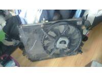 Vw sharan radiator fan pack taken from 2.0 litre diesel