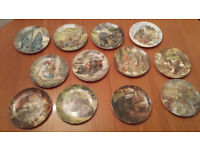 12 Wedgewood Collector Plates 'Wind in the Willows'