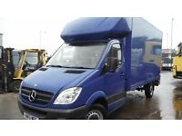 "2013 Mercedes 313 13ft 6"" Luton with tail lift and tying rails 77,078 miles + vat"