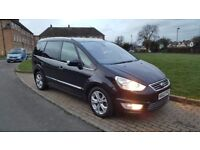 FORD GALAXY 63 PLATE 2.0TDCI AUTOMATIC TITANIUM 7 SEATER 100K FSH, LONH MOT, MINT CONDITION IN&OUT