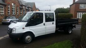NO VAT !!2013 REG TRANSIT TIPPER IMMACULATE CONDITION THROUGHOUT
