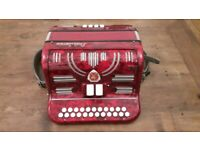 Paolo Soprani Button Accordion B/C 1959