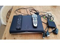 SKY+ HD BOX WITH REMOTES ETC