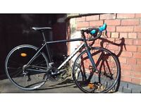 B'Twin Triban 500 SE Road Bike (54cm Frame)
