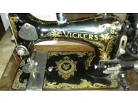 Vickers Sewing Machine