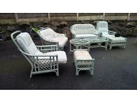 CONSERVETRY/GARDEN 6 SEATER SET