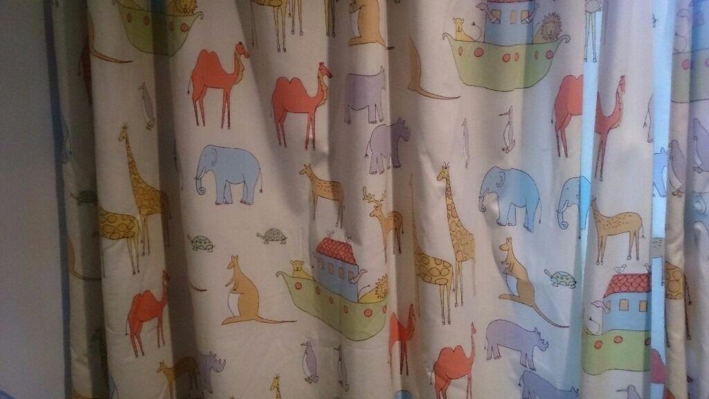Curtains For Kids Baby S Bedroom John Lewis Noah S Ark