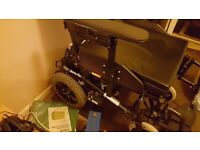 INVACARE SPECTRA PLUS ELECTRIC WHEEL CHAIR