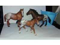 Collectable Schleich Model Horses