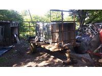 14ft hay trailer
