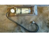 Vintage/Antique Sully car tyre pump