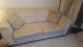3 Seater Sofa, Snuggle Arm Chair and Footstool £300 (offers considered)