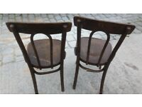 Pair of Bentwood Cafe Chairs