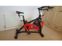 Bodymax exercise bike, spin bike, indoor bike