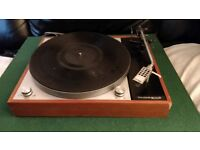 Vintage Thorens TD 150 Mk II turntable in excellent working condition.