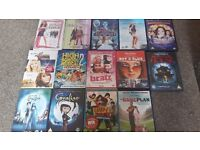 Lots of dvds for a teenager or child. Freaky Friday, High school musical and many more..