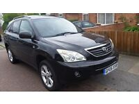 Lexus rx 400h hybrid service history with 12 months mot supprb conditions hpi